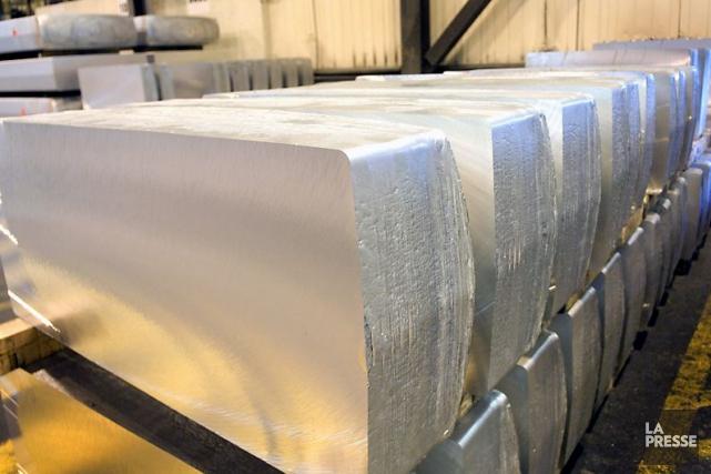 Le cours de l'aluminium reste inférieur de 40%... (PHOTO IVANOH DEMERS, ARCHIVES LA PRESSE)