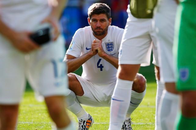 Steven Gerrard a disputé notamment trois fois l'Euro... (Photo Damir Sagolj, Reuters)