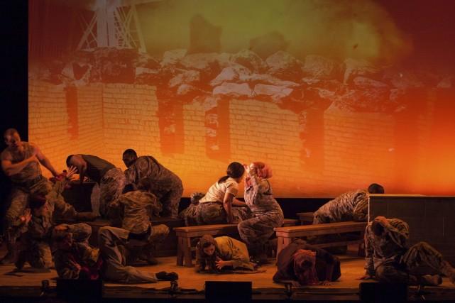 Bavure militaire, vengeance, pardon, corruption, le tout à... (Photo: fournie par la production)