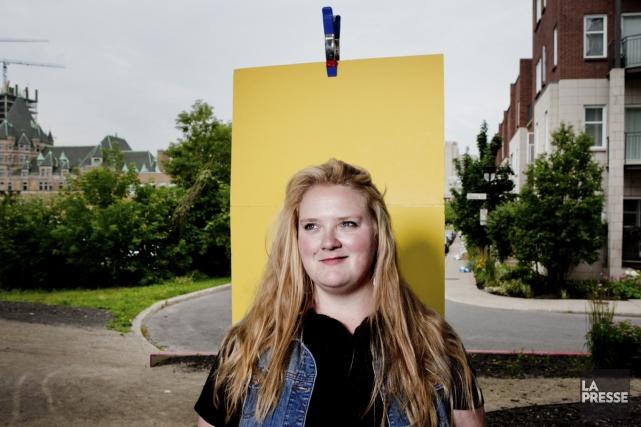 La comédienne de 28 ans joue cet été à Cowansville et sera dans la saison 3... (Photo: Marco Campanozzi, archives La Presse)