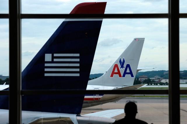 Toutes les compagnies aériennes majeures - sauf United... (PHOTO SUSAN WALSH, ARCHIVES AP)