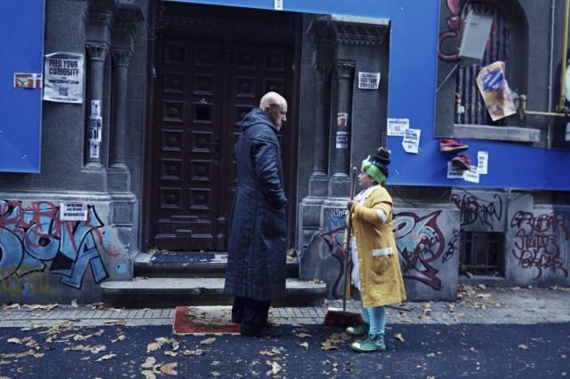 Christoph Waltz dans une scène de The Zero... (Photo: La Presse Canadienne)