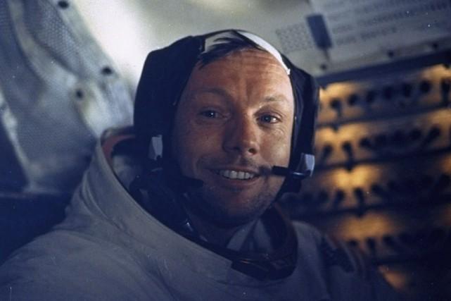 Neil Armstrong, qui est décédé en 2012, a... (Photo archives NASA, Associated Press)