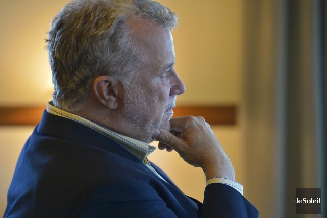 Le premier ministre Couillard a annoncé qu'il pourrait... (Photo Yan Doublet, Le Soleil)