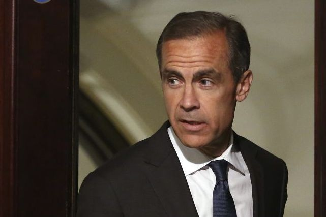 Le gouverneur de la Banque d'Angleterre, Mark Carney, quitte... (Photo Chris Ratcliffe, archives Bloomberg)