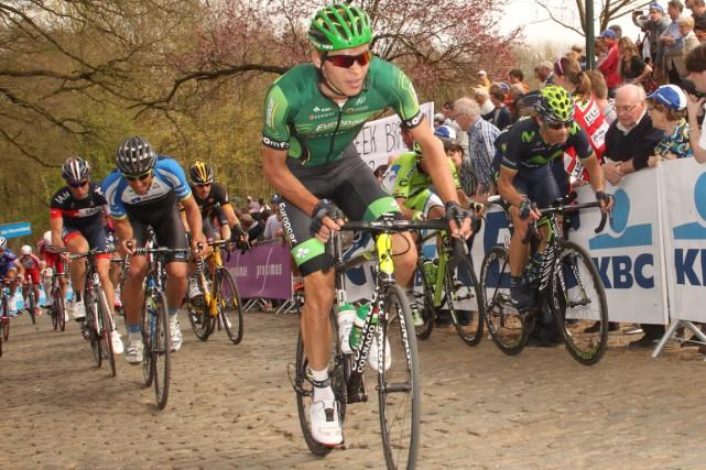 Le cycliste québécois Antoine Duchesne saura dans les... (Photo fournie par Jean-Marc Hecquet)