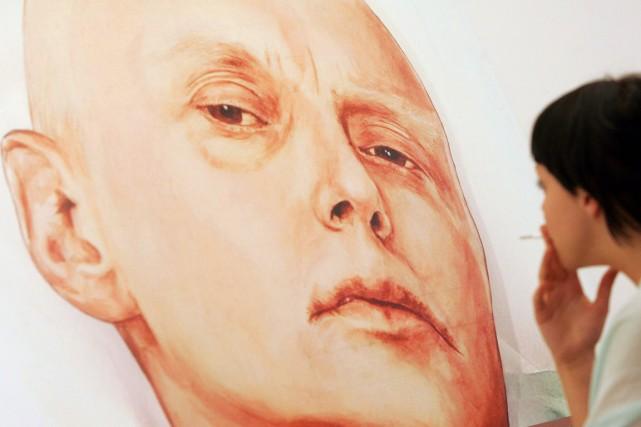 Alexandre Litvinenko 43 ans (tableau), un transfuge du... (PHOTO NATALIA KOLESNIKOVA, ARCHIVES AFP)