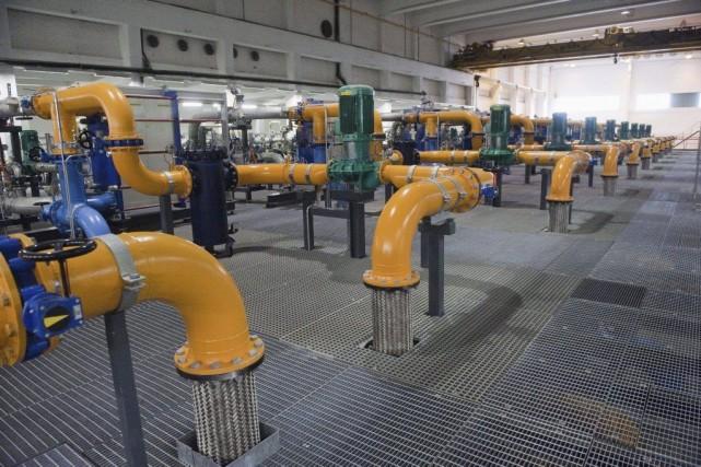 Google a acheté en 2009 une ancienne usine... (Photo Jarno Mela, Archives AFP)