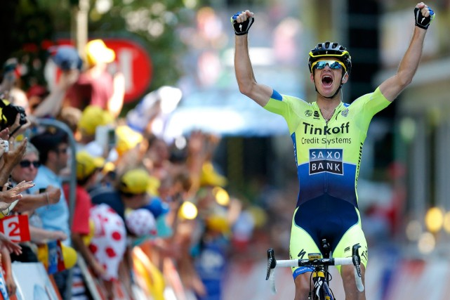 L'Australien Michael Rogers a remporté mardi la plus... (Photo Jean-Paul Pelissier, Reuters)