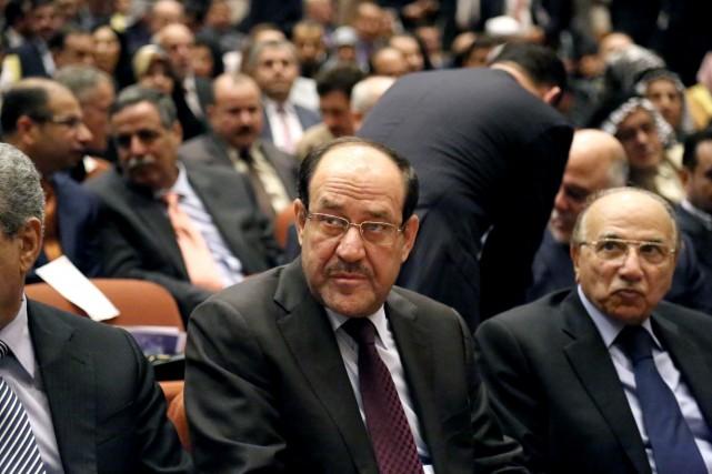 Nouri al-Maliki, au pouvoir depuis 2006, entretient des... (Photo Karim Kadim, AP)