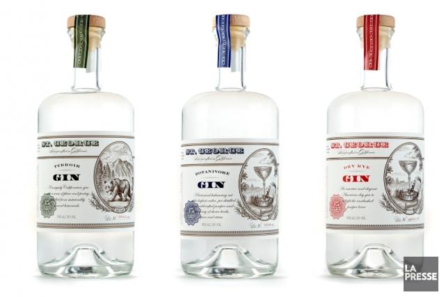 Au début du mois de juin, le mythique Barr Hill Gin, de la distillerie... (Photo La Presse)