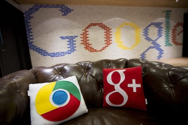 Googlese voyait reprocher principalement de mettre en avant... (Photo Andrew Harrer, Bloomberg)