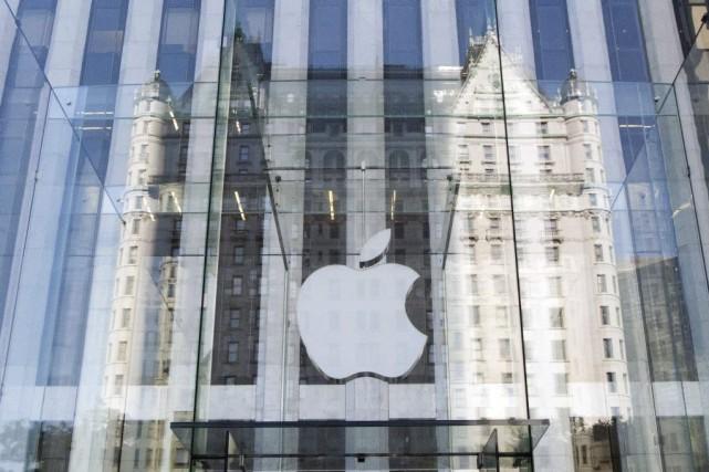Le brevet d'Apple décrit un appareil qui, sur... (PHOTO DON EMMERT, ARCHIVES AFP)