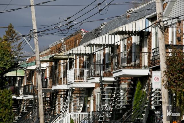 Les loyers au Québec sont les plus bas... (Photo David Boily, archives La Presse)