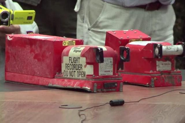 Ces boîtes noires avaient été remises dans la... (Photo: AFP)