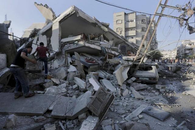 L'Union européenne a appelé mardi Israël à mener une opération «proportionnée»... (Photo: AP)