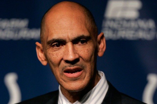 Tony Dungy... (Photo Michael Conroy, archives AP)