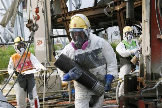 L'accident survenu à Fukushima Daiichi (220km au nord-est... (PHOTO KIMIMASA MAYAMA, ARCHIVES AP)