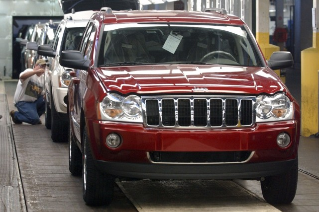 Les Jeep Grand Cherokee des années 2005 à... (Photo archives Reuters)