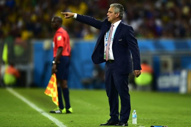 Le sélectionneur de l'équipe d'Équateur, Reinaldo Rueda.... (Photo Rodrigo Buendia, AFP)