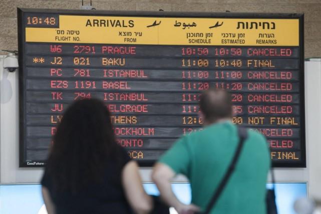 Le patron de l'Association des tours opérateurs israéliens,... (Photo Dan Balilty, AP)