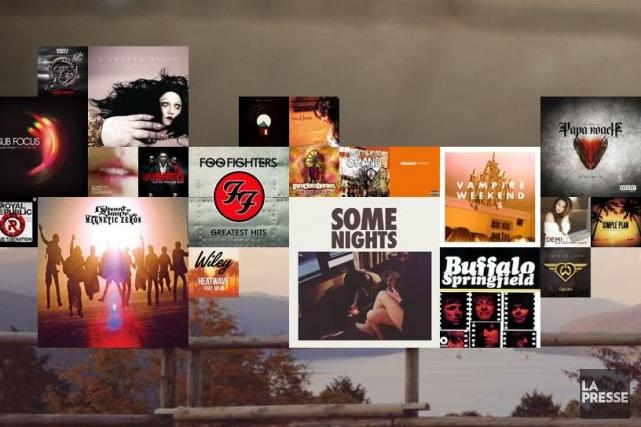 Spotify est le numéro un mondial de la... (Photo: archives La Presse)