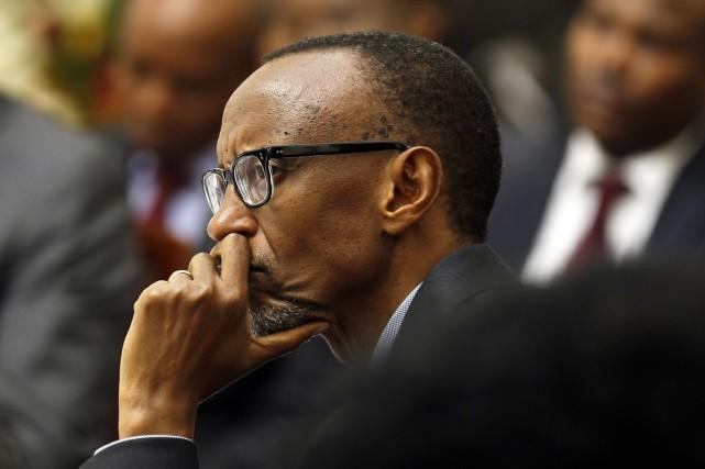 Le président rwandais Paul Kagame... (Photo Thomas Mukoya, AP)