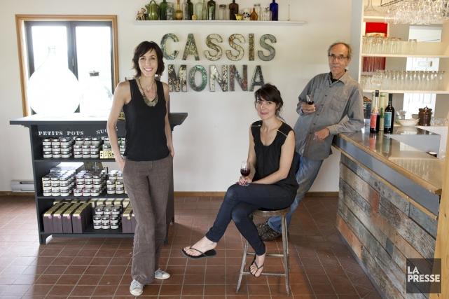 Cassis Monna&filles, c'est Bernard Monna, qui a acheté... (PHOTO ROBERT SKINNER, LA PRESSE)