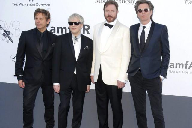 Roger Taylor, Nick Rhodes, Simon Le Bon et... (Archives AP)