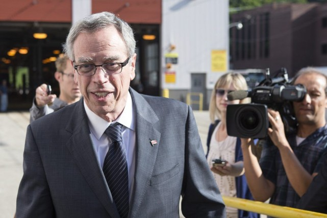Joe Oliver a estimé mercredi que la création d'emplois... (Photo Chris Young, Archives PC)