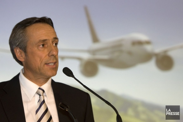 Guy Hachey,président et chef de l'exploitation de Bombardier... (Photo Robert Skinner, Archives La Presse)