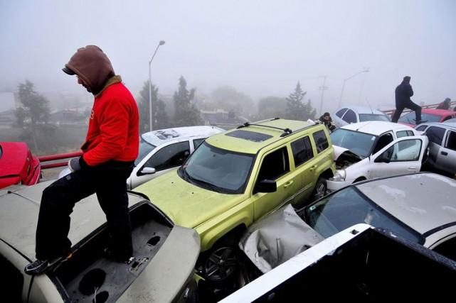 Le taux de mortalité sur les routes de neuf pays d'Amérique latine s'est élevé... (Archives Reuters)