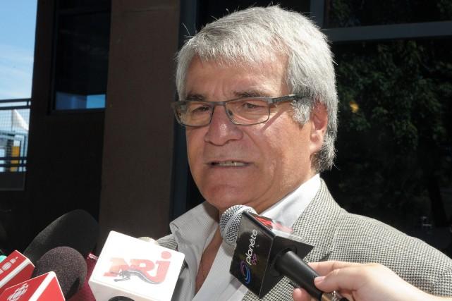 Le maire d'Alma, Marc Asselin... ((Archives))