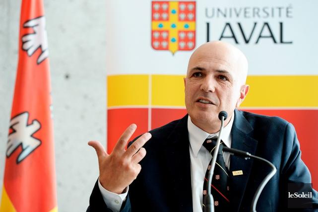 Le vice-recteur principal de l'Université Laval, Éric Bauce... (Photothèque Le Soleil)