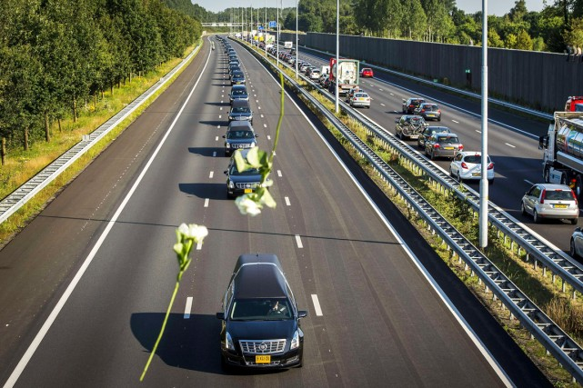 Les Pays-Bas ont décrété, hier, une journée de... (PHOTO REMKO DE WAAL, AFP)
