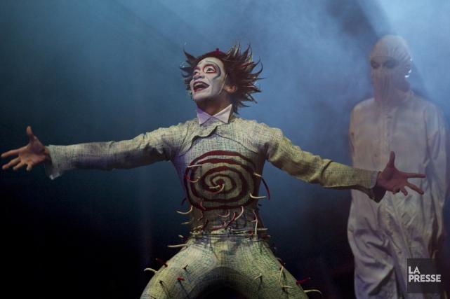 Le Cirque du Soleil devait se produire pour... (Photo: André Pichette, archives La Presse)