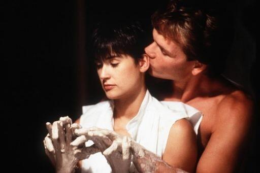 Demi Moore et Patrick Swayze dans une scène... (Photo: archives AP)