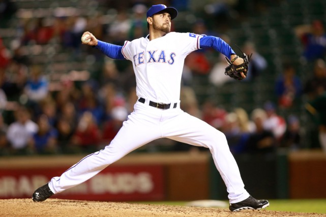 Joakim Soria... (Photo Tim Heitman, USA Today)
