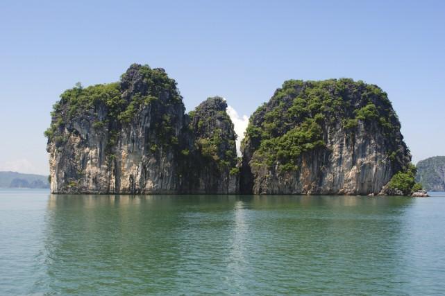 L'image idéaliste de la baie de Ha Long,... (Photo fournie par Ethnic Travel)