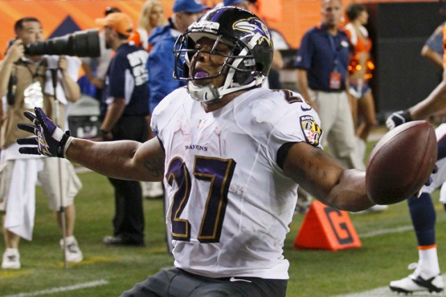 Ray Rice... (Photo Rick Wilking, archives Reuters)