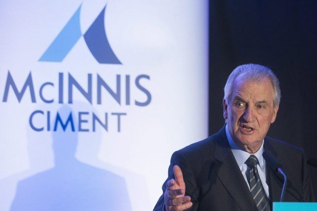 Ciment McInnis, une compagnie formée par l'homme d'affaires... (PHOTO ARCHIVES LA PRESSE CANADIENNE)