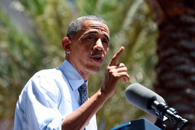 Le président américain Barack Obama a proposé de... (PHOTO JEWEL SAMAD, AGENCE FRANCE-PRESSE)