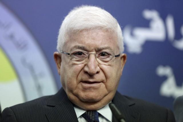 Fouad Massoum a été élu président de l'Irak.... (PHOTO HADI MIZBAN, ASSOCIATED PRESS)