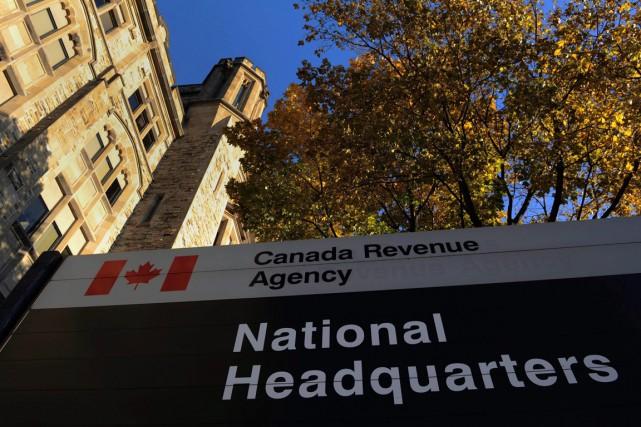 Cette dispute entre l'Agence du revenu du Canada... (ARCHIVES LA PRESSE CANADIENNE)