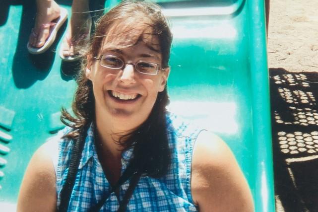 Isabelle Prévost, une mère de famille de Sherbrooke,... (PHOTO TIRÉE DE TWITTER)