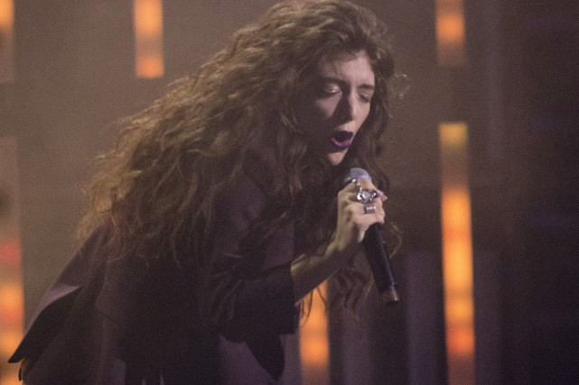 Lorde... (Photo: archives La Presse Canadienne)