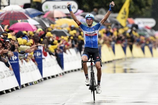 Le Lituanien Ramunas Navardauskas a remporté la 19e... (Photo Eric Feferberg, AFP)