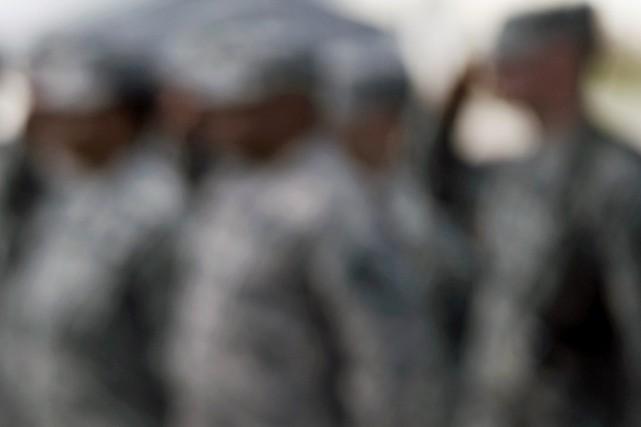 «Deux grandes bases militaires américaines où vivent de... (PHOTO ARCHIVES AFP)