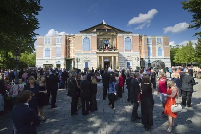 Le rideau s'est levé vendredi sur le célèbre Festival d'opéra de Bayreuth,... (Photo: AFP)