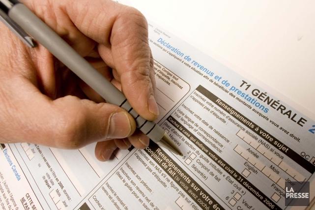 Les remboursements d'impôt représentent 149 millions de dollars... (PHOTO ALAIN ROBERGE, ARCHIVES LA PRESSE)